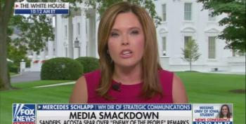 Mrs. Schlapp Claims CNN's Jim Acosta Is 'Fake News'