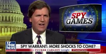 Tucker Wants Unredacted FISA Leaked To Him, Please!