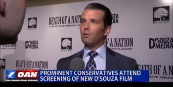 Don Trump Jr. Pimps Pardoned Convicted Felon's Nazi Movie