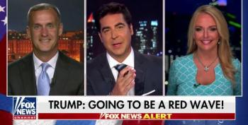 Jesse Watters Jokes That Trump Snubbed Jeanine Pirro At Ohio Rally