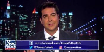 Jesse Watters Explains He Was Only Joking About Jeanine Pirro Throwing Glass In Green Room