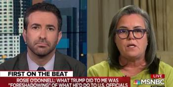 Rosie O' Donnell Tells Ari Melber: 'Stop Covering His Rallies'