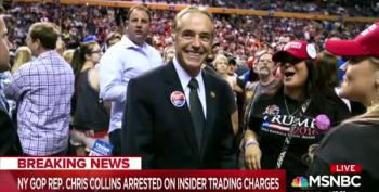 Audience Surprises Hallie Jackson; Cheers As GOP Arrest Announced
