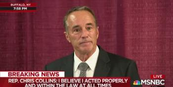 Chris Collins Vows To Fight 'Meritless Charges'