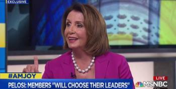 Nancy Pelosi: I Don't Think Republicans Should Choose Our Leadership