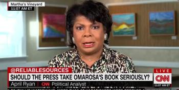 April Ryan Whacks Omarosa: 'She's Not A Friend. She's A Liar And I Would Say She's Evil.'