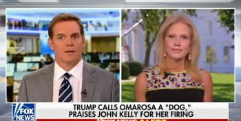 Fox News Host Pushes Kellyanne Conway To Explain Trump Calling Omarosa 'That Dog'