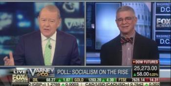 Stuart Varney Freaks Out After Gallup Poll Says Young Dems Prefer Socialism To Capitalism