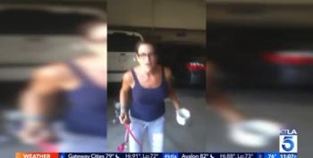 Tearful Woman Claims She's The Victim After Throwing Hot Coffee In The Face Of Latino Worker