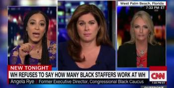 Angela Rye Smacks Down Conservative On Trump's All White West Wing