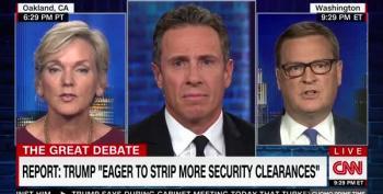 Right-Wing Hack Tells Chris Cuomo: John Brennan Is A Partisan Hack