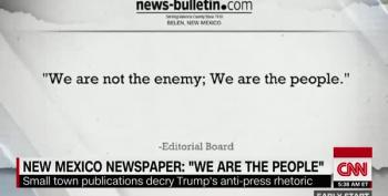 Brian Stelter Reviews 'Press Is Not Enemy Of The People' OpEds