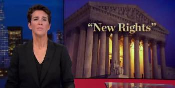 Maddow:  Kavanaugh Has Bad Poll Numbers Because Policy