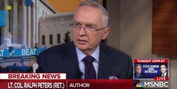 Colonel Ralph Peters Drops Some Truth Bombs About Trump And His Supporters
