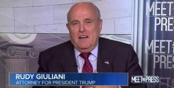 Rudy Giuliani Admits Trump Tower Meeting Was For Purpose Of Getting Dirt On Clinton