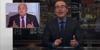 John Oliver: With Rudy As His Lawyer, Trump Can Only Wind Up In Prison