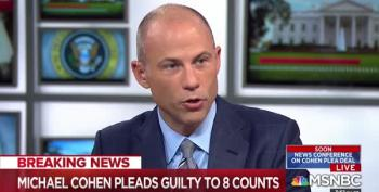 Avenatti Celebrates Cohen Plea; Looks Ahead To Trump Deposition