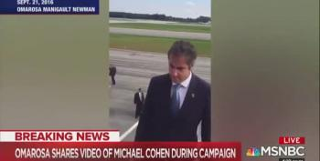 Omarosa Releases Video Proving Michael Cohen Worked On Campaign