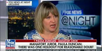 Manafort Juror Tells Fox News Jury Split 11-1 On 10 Counts