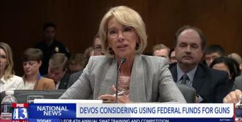 Betsy DeVos Wants To Buy Guns For Teachers With Poor Kids' Funds