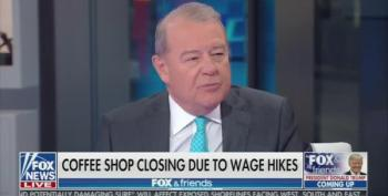 Stuart Varney Claims Raising The Minimum Wage Is 'A Tragedy'