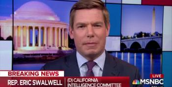 Rep. Swalwell Talks Possible State Criminal Charges Against BOTH Trump Org And Michael Cohen