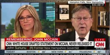 Sununu Says CNN Isn't A Credible Source