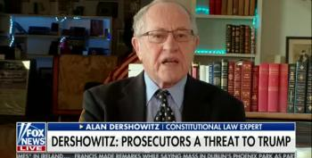 Alan Dershowitz Lets His Paranoia Shine On Fox And Friends