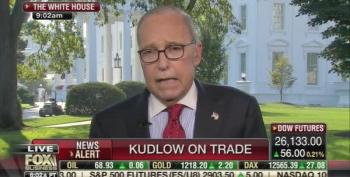 Larry Kudlow Spins After Wall Street Journal Calls Trump Plan 'Worse Than NAFTA'
