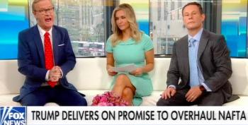 Fox Host Assures Viewers Trump's NAFTA 'Deal' Means He Likes Mexicans