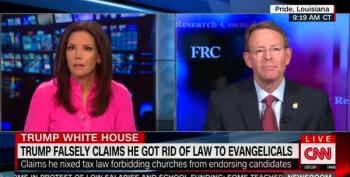 Tony Perkins Equates 'The Left' With Antifa, But Denies Charlottesville Nazis Are Right Wing