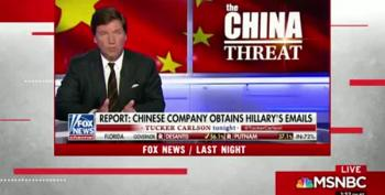 Trump Got His 'China Hacked Clinton Servers' From Uncorroborated Daily Caller Story