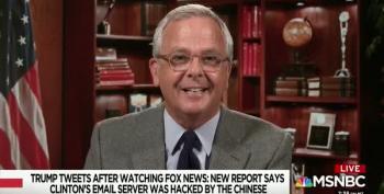MSNBC Pundit Warns Trump: Too Much Fox News 'Will Rot Your Brain'