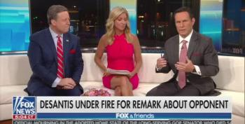 Fox And Friends Tries To Clean Up Rep. DeSantis' Racist Mess
