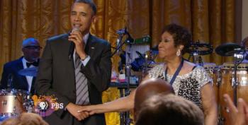 LISTEN:  Barack Obama's Letter To Aretha Franklin's Family