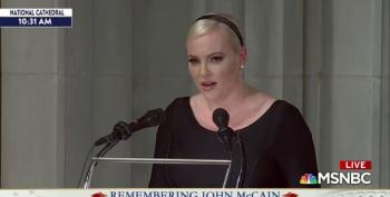 Meghan McCain's Eulogy For Her Father Contrasts Him With Trump