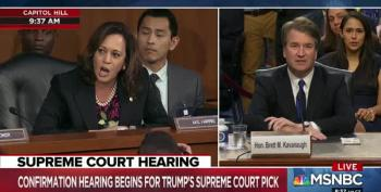 Democrats Interrupt Kavanaugh Hearing With Objections
