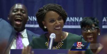 Ayanna Pressley's Victory Speech: Change Can't Wait