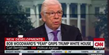 Carl Bernstein: Woodward's Book Shows Staff Trying To Protect The Country