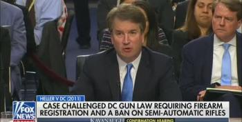 Kavanaugh Says Assault Weapons Not 'Unusual,' Can't Be Banned