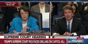 Sen. Feinstein Asks Kavanaugh If A President Could Be Subpoenaed