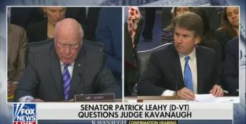 Sen. Leahy Rattles Kavanaugh Over Questioning About Stolen Emails