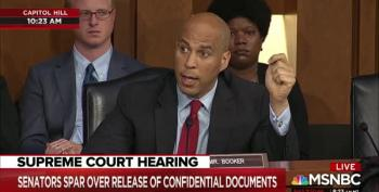 'Bring The Charges': Mutinous Dems Release Confidential Documents To Press In Kavanaugh Hearing