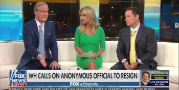 Fox And Friends Freak Out Over Anonymous Op-ed: 'Deep State' Is Trump's People