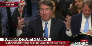 Sen. Leahy Confronts Kavanaugh With His Use Of Stolen Democratic Documents