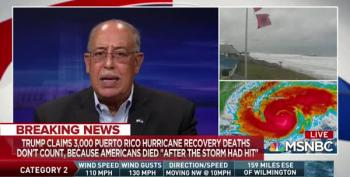 Katrina Commander Blasts Trump: 'Focus On The Future Damn Storm!'