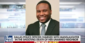 White Cop Shoots Black Man In His Own Apartment; Cops Search Victim