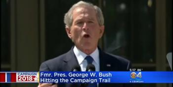 He's Baaack!  George W. Bush Campaigning For Republicans, Except Ted Cruz