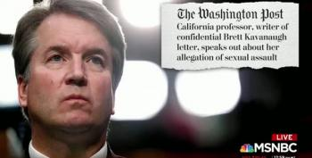 Don't Kid Yourself. The GOP KNOWS Kavanaugh Tried To Rape Someone