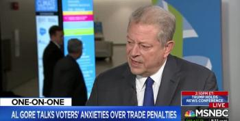 Al Gore Talks Trump, Climate Change, Floods, Fire And Scandal